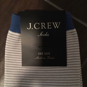 J. Crew Accessories - REDUCED❗️ J.Crew Trouser Sock Color Block Stripes